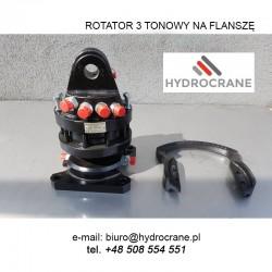 Rotator hydrauliczny  3 tonowy