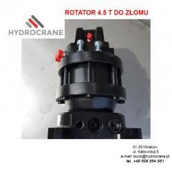 rotator 4,5 tonowy do złomu -wzmacniany